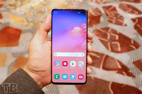Samsung Galaxy S10 6 1 Inch by Samsung Galaxy S10 Finally Official Features Rear Cameras 6 1 Inch Curved Display