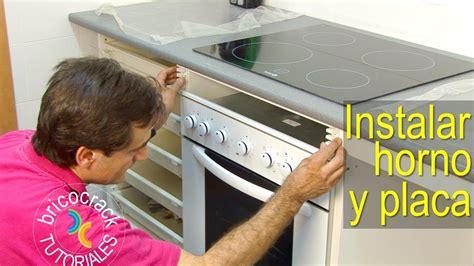 junta encimera vitroceramica instalar una placa de cocina y un horno bricolaje y