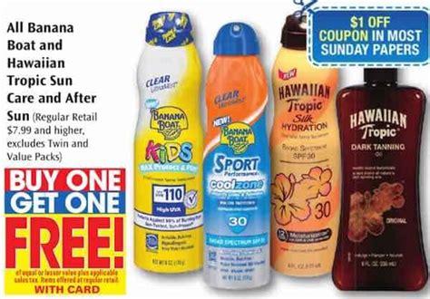 banana boat printable coupon printable coupons and deals banana boat sun care