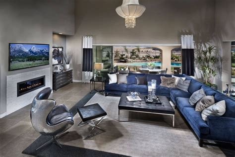 Grey Living Room L Modern Grey Living Room Interior Decorating Ideas With