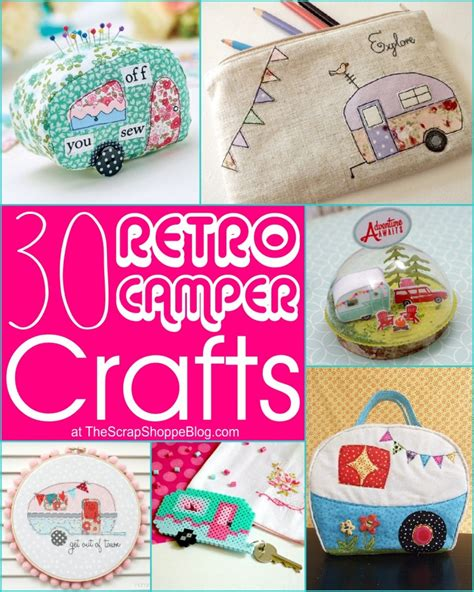 retro crafts 30 retro cer crafts the scrap shoppe