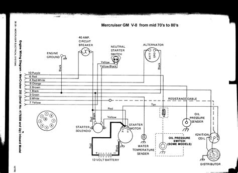 mercruiser 350 alternator wiring diagram style by