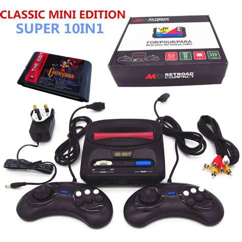 sega genesis console newest retroad mini classic edition 16bit sega genesis md