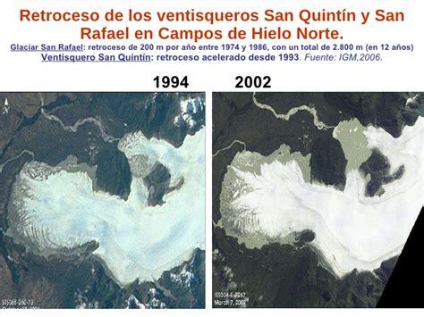 retroceso en el congreso la glaciares reservas estrat 233 gicas de agua dulce chile