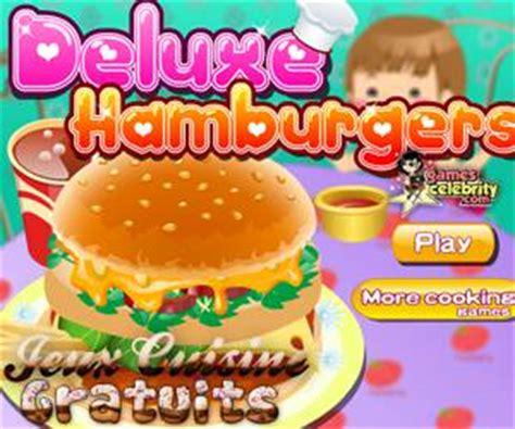 jeux de cuisine de hamburger la pizza de sur jeux cuisine gratuits
