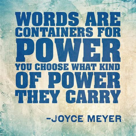 Words Of Power the power of a word tyinckrysset