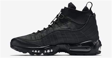 air max 95 boots the nike air max 95 gets a winterized boot makeover