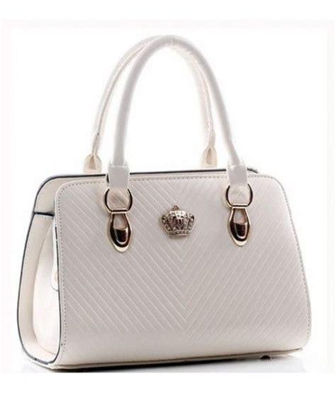 Handbag White Import Korea bt4745 white supplier tas import murah dijamin