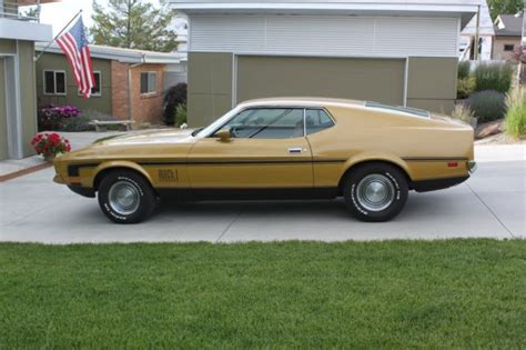 mustang warehouse 1972 mustang mach 1 quot warehouse find quot