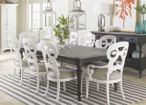 coastal dining room sets coastal living gloucester grey rectangular dining room set from coastal living 411 81 31