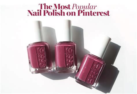 essie most popular the most popular essie nail polish color on pinterest see