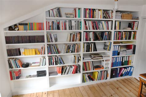 loft shelving built in bookshelves bespoke bookcases london furniture artist