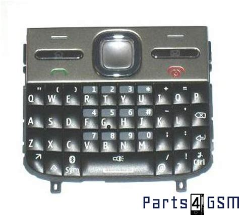 Nokia Keyboard Qwerty nokia e5 00 keyboard qwerty black 9790z06 bulk parts4gsm