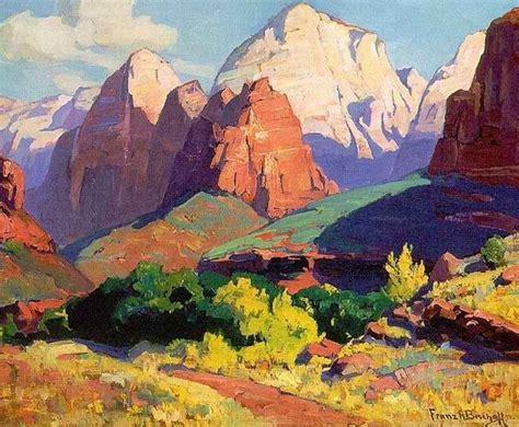 Landscape Paintings Utah Best 25 Impressionist Paintings Ideas On