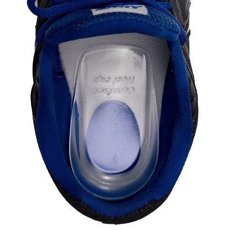 Bantal Kaki 22 biru 39 45 ukuran gel silikon bantal panas sepasang kaki