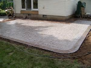Concrete Stamped Patio by Ct S Stamped Concrete Gallery
