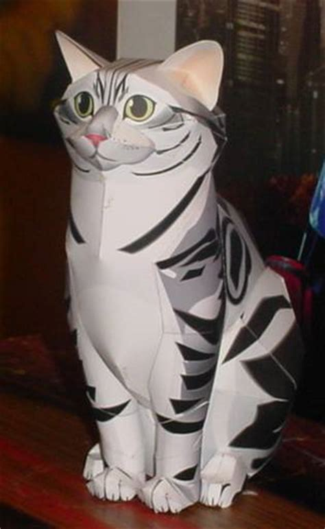 Cat Paper Craft - cat papercraft by paperart on deviantart