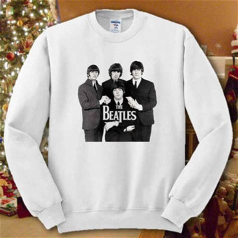 Hoodie Sweater The Beattles Clothing 1 shop the beatles sweatshirt on wanelo