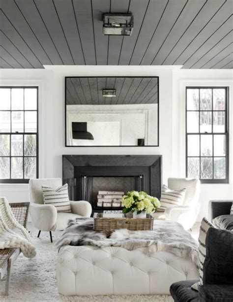 Shiplap Ceiling by Three Design Trends I M Loving The House Of Silver Lining