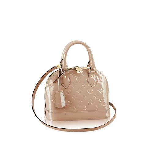 alma bb monogram vernis handbags louis vuitton