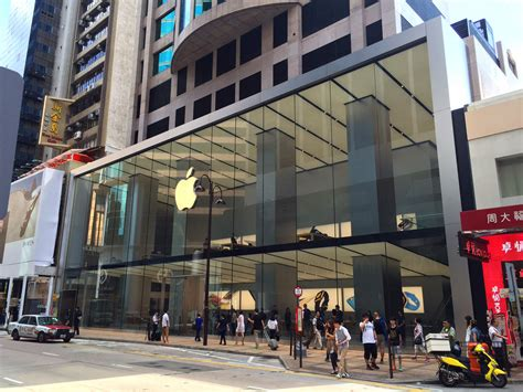 apple hongkong apple increases its presence in china with new flagship