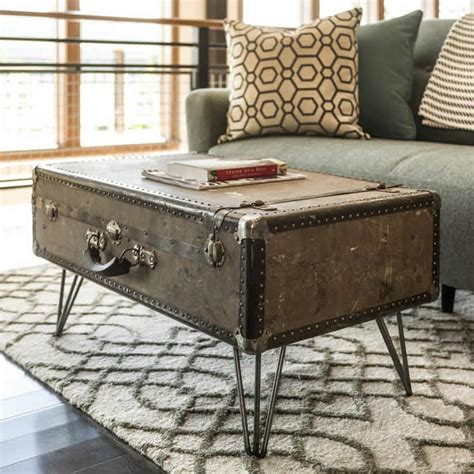 Suitcase Coffee Table Diy Suitcase Coffee Table By Eastman Upcycledzine