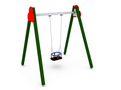 single baby swing single baby swing ref 10040 outdoor playground equipment