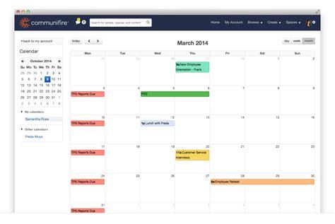 design calendar asp net asp net intranet software portal cms intranet