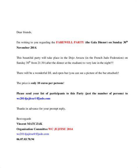 Invitation Letter For Conference Dinner 34 sle invitation letter