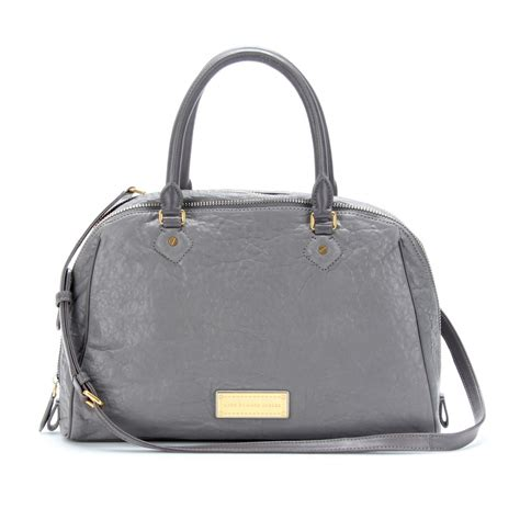 Marc Washed Leather Purse by Marc By Marc Washed Up Leather Tote In Gray