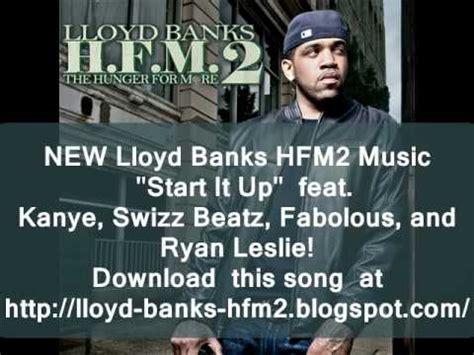 lloyd banks song list new lloyd banks start it up ft kanye west swizz beatz