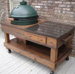 outdoor kitchen work table 17 best ideas about big green egg table on big