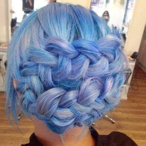 how to do the periwinkle hair style blue hair 30 brand new bangin blue hair color ideas
