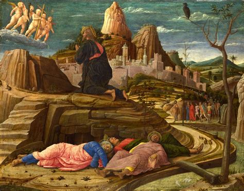 The Agony In The Garden by Andrea Mantegna The Agony In The Garden