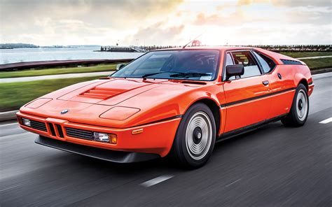 1980 Bmw M1 Front View Photo 4