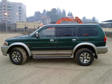 mitsubishi car 2002 2002 mitsubishi pajero sport pictures information and