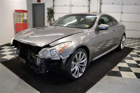 how to fix cars 2008 infiniti g auto manual 2008 infiniti g37 s coupe damaged wrecked for sale