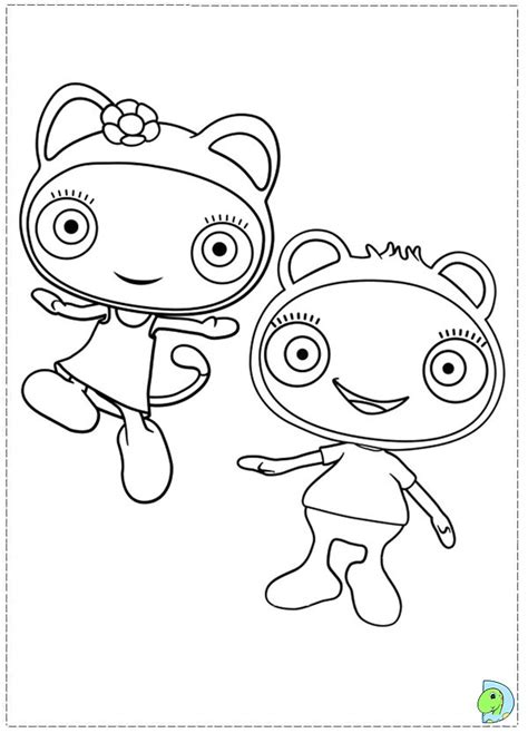 coloring pages colouring book info waybuloo coloring page dinokids org