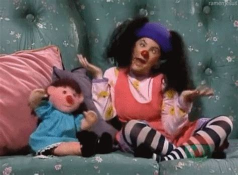 the big comfy couch characters show childhood gif find share on giphy