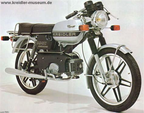 Oldtimer Motorrad Frankreich by Kreidler Florett Rm 1978 Frankreich Kreidler