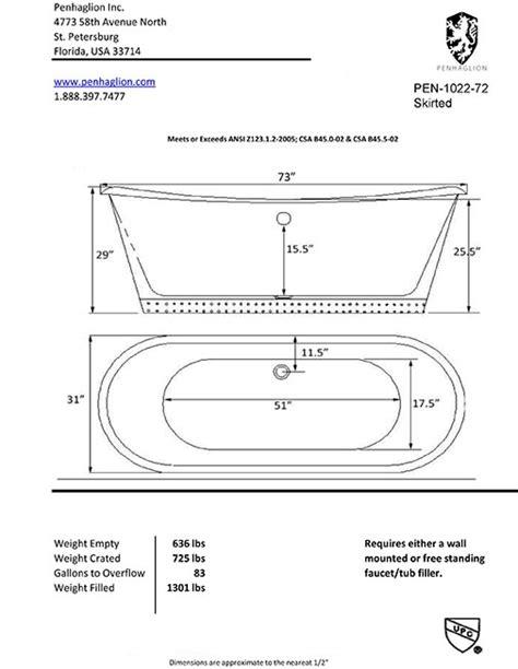 freestanding bathtub dimensions the woburn copper exterior cast iron french bateau bath tub