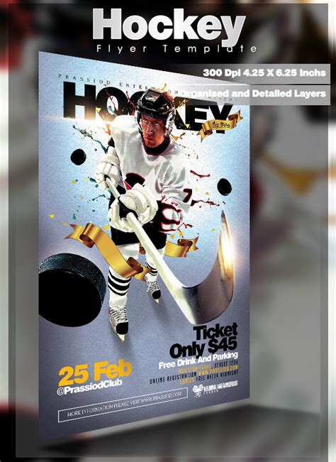 hockey flyer template 23 hockey flyer templates psd ai eps vector format