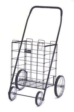 råskog cart medium shopping cart with wheels folds flat for storage