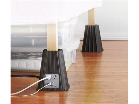 bed risers with outlets crazy clever ideas for remodeling your home