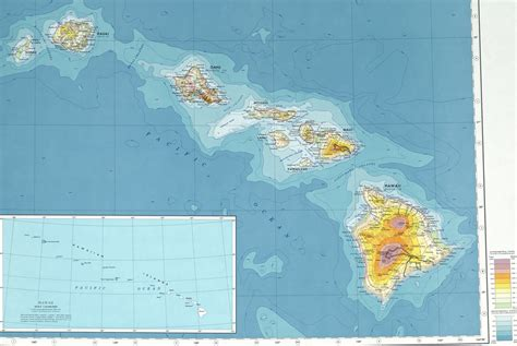 map of hawaii and united states hawaii map