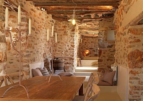 interiores de piedra dise 241 o interior en piedra a interiorismo