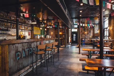 newspaper themed bar mexican themed hospitality brand el patron to open europe