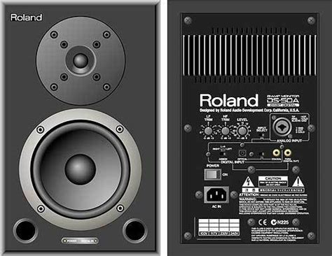 Monitor Roland roland ds 50a powered monitors speakers 400 for the pair tribe forum