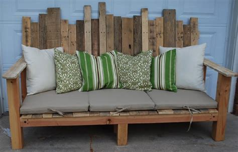 diy sofa bench 40 creative pallet furniture diy ideas and projects