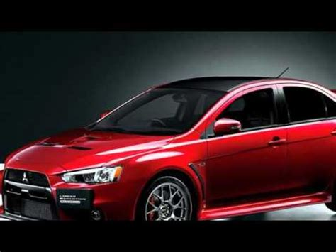 mitsubishi lancer evo 2017 2017 mitsubishi lancer evolution x edition concept